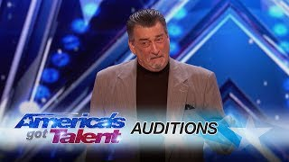 DeNiro Guy: Celebrity Impersonator Brings His Talents To AGT - America's Got Talent 2017 thumbnail