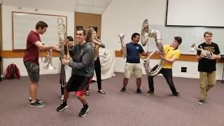 Happy Birthday (New-Orleans Style!) - BYU-Hawaii Street Band