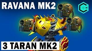 wAR ROBOTS NEW ROBOT RAVANA 3 TARAN 12 LVL MK2 ЧЕТКАЯ СРЕДНЯЯ ДИСТАНЦИЯ!