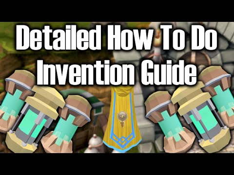 Detailed How to do Invention Guide - Training Methods/Explainations