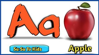 a for apple b for ball | abcd phonics song abcd phonics song | english alphabet song | aloo