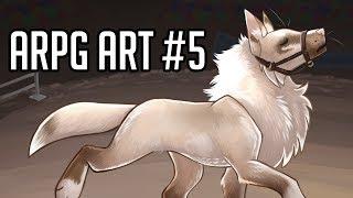 ARPG Art #5: Tokotas [Speedpaint + Voiceover]