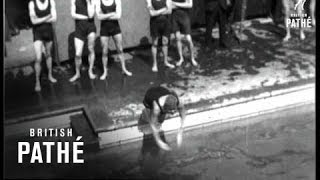 Camera Interviews - The South African Ladies Olympic Swimmers (1928)