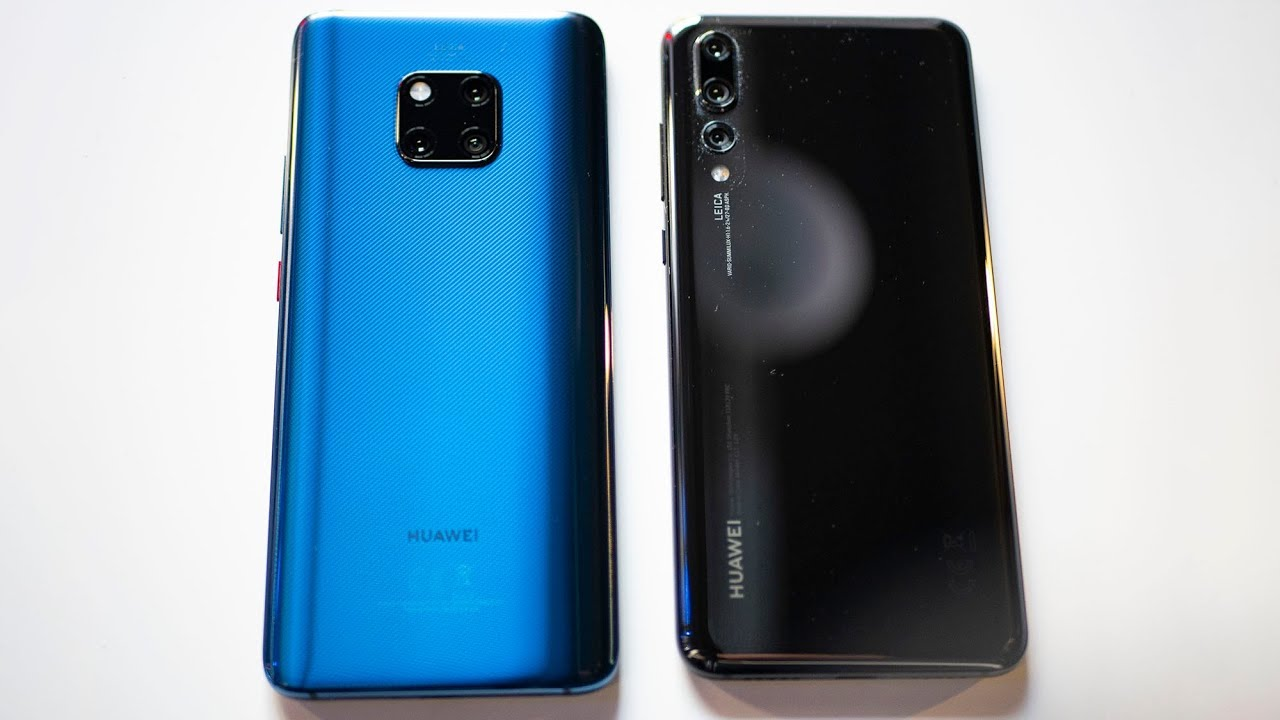 9a7cc439fb3 Huawei Mate 20 Pro vs Huawei P20 Pro - YouTube