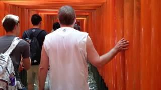 Киото. Храм тысячи ворот Кармы.