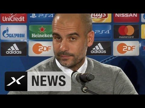 "Pep Guardiola: ""Bin FCB-Fan und vertraue Carlo Ancelotti"" | FC Bayern München | Manchester City"