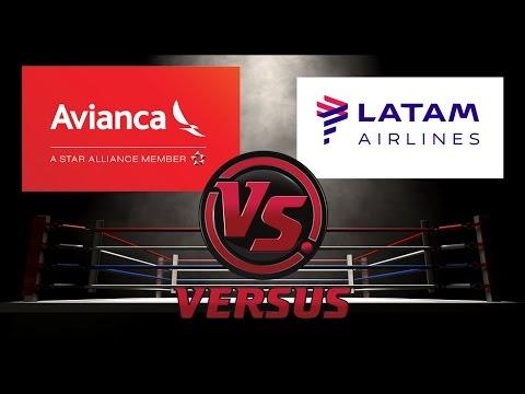 Avianca vs Latam | Enfrentamos las Aerolíneas | #Versus