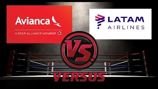 Avianca vs Latam   Enfrentamos las Aerolíneas   #Versus