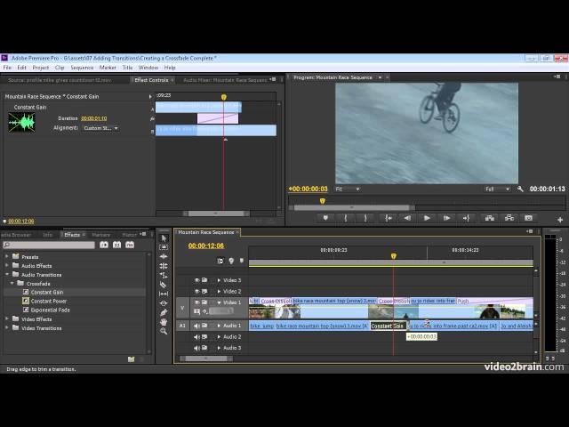 Creating an Audio Crossfade