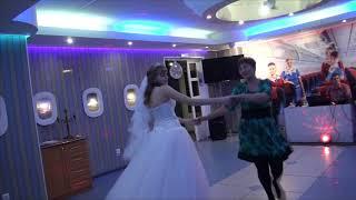 Свадьба. Танец невесты со свекровью.