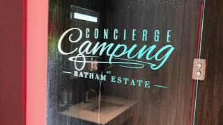 Concierge Camping Site Tour