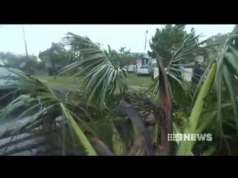 Tornado hits Bundaberg Queensland