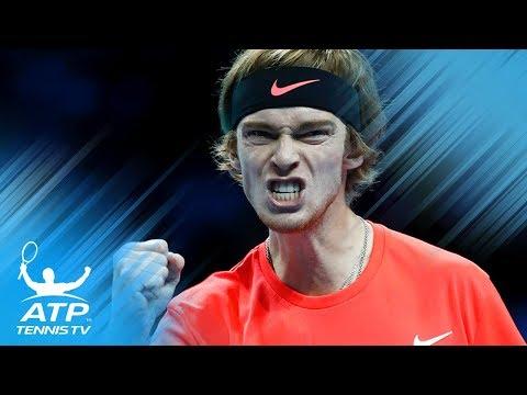 Tsitsipas and Rublev Start Strong; De Minaur Rolls | Next Gen ATP Finals Day 1 Highlights