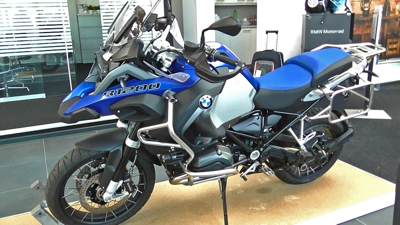 BMW R 1200 GS Adventure / 125PS - 2015 - YouTube