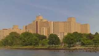 Manhattan Psychiatric Center Seen From East River