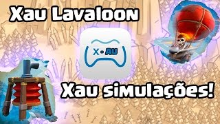 Clash of Clans - Mega defesa contra lavaloon Novo layout com Dispersor