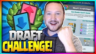 DRAFT CHALLENGE HYPE!! - Weekend Event + FREE Giant Chest - Clash Royale