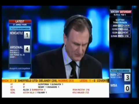 Newcastle United 4 4 Arsenal 5 2 11 Soccer Saturday Youtube