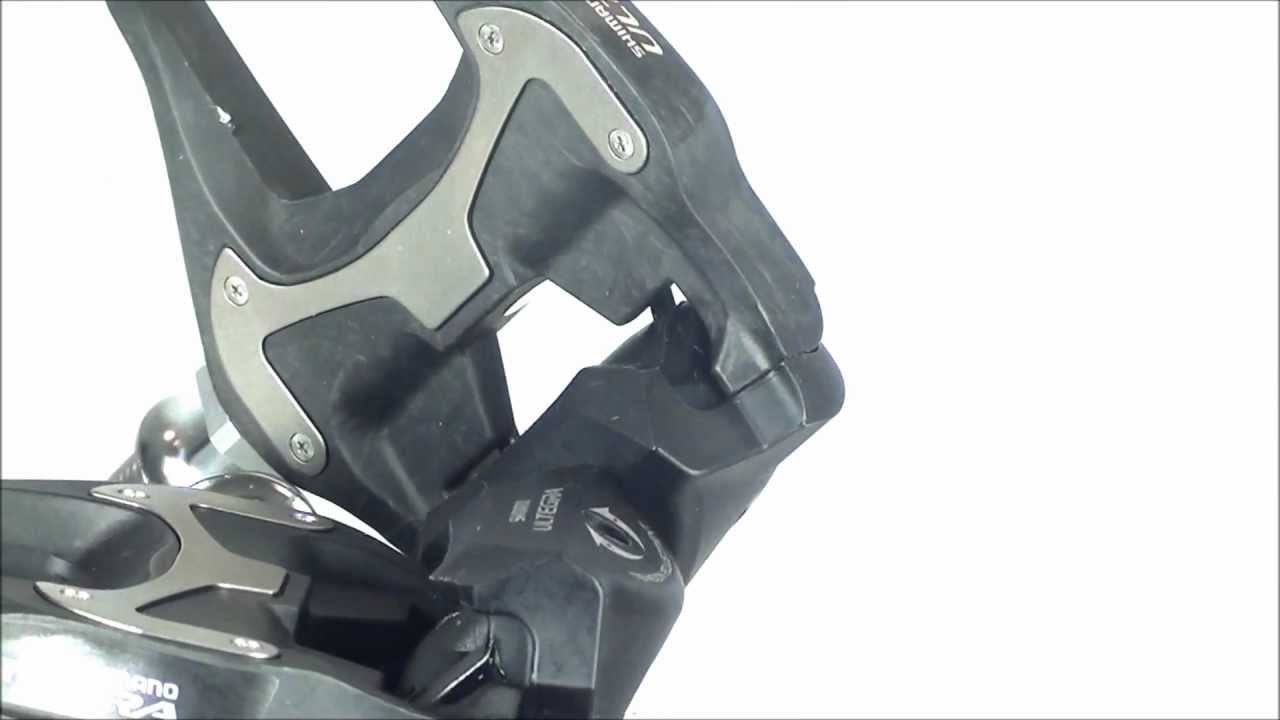 9725ef3328f Shimano Ultegra 6700 Carbon Pedals - YouTube