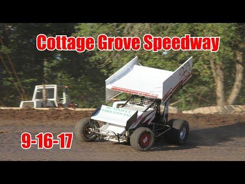 Cottage Grove Speedway 9-16-17