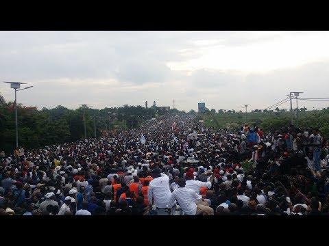 Intégralité de l'arrivée de Felix Tshisekedi à Kinshasa