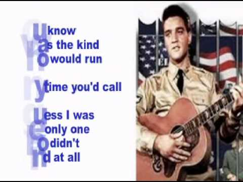 Elvis Presley-Doin' The Best I Can-Cover With Lyrics