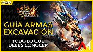 [Masa Guía] Monster Hunter 4 Ultimate - Armas de Excavación [Español] thumbnail