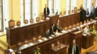 Langer a Topolánek si hrají ve Sněmovně