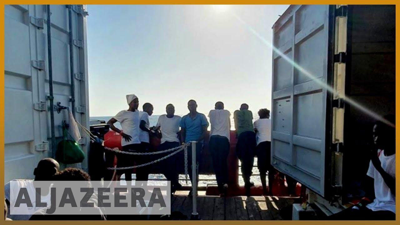 AlJazeera English:Ocean Viking rescue ship awaits port access in latest standoff