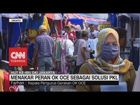 Menakar Peran OK Oce sebagai Solusi Pedagang Kaki Lima