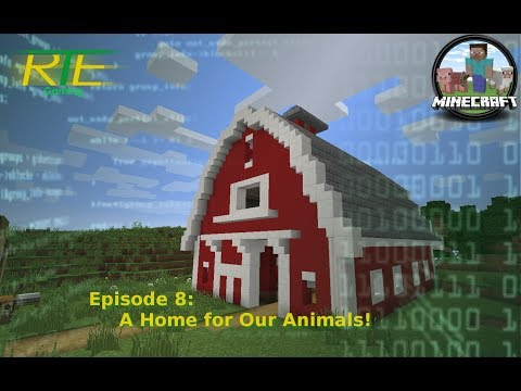 MINECRAFT HTTP: 302 (vanilla) S01E08 - A Home for Our Animals!