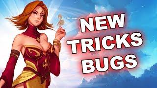 NEW Dota 2 Tricks, Tips and Bugs - 7.15!