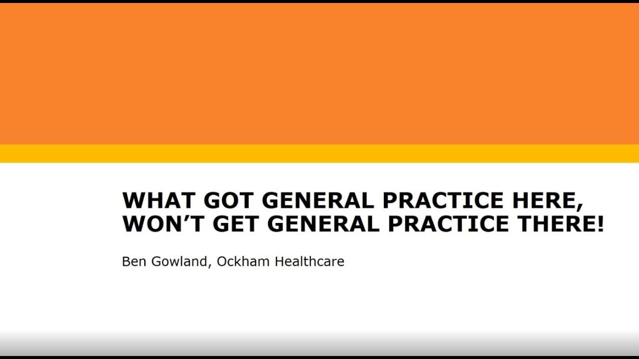 Blogs Archives - Ockham Healthcare
