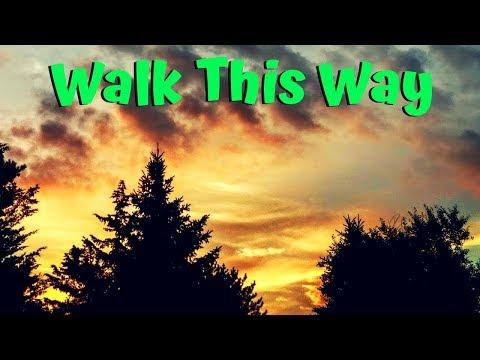 Walk this way to rock.  TGIF 🎶#rocknroll