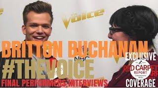 Britton Buchanan #TeamAlicia  interviewed at