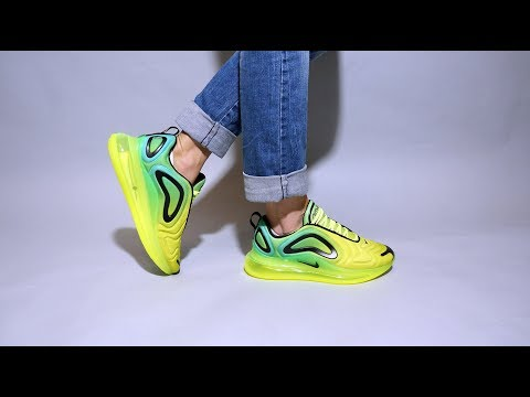 Nike Air Max 720 Volt Ao2924 701 On Feet Youtube