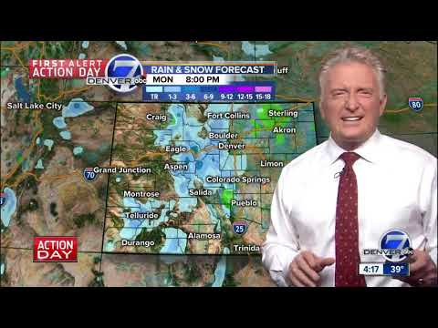 Monday Afternoon Weather Forecast