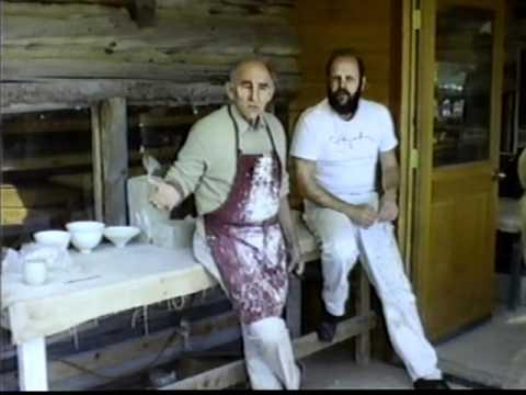 SIMON LEACH POTTERY ~ David Leach at Anderson Ranch June 1988 ! - part 2