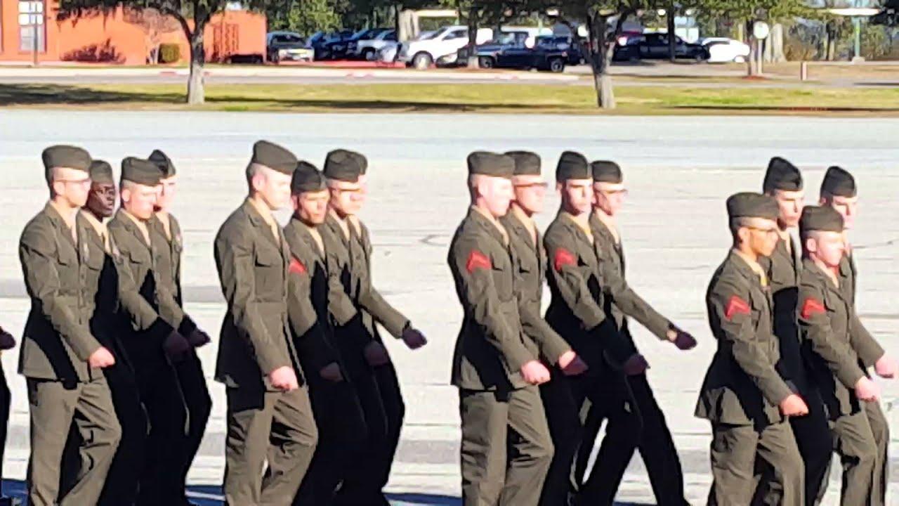 Us Marine Corps Graduation Parris Island Sc Youtube