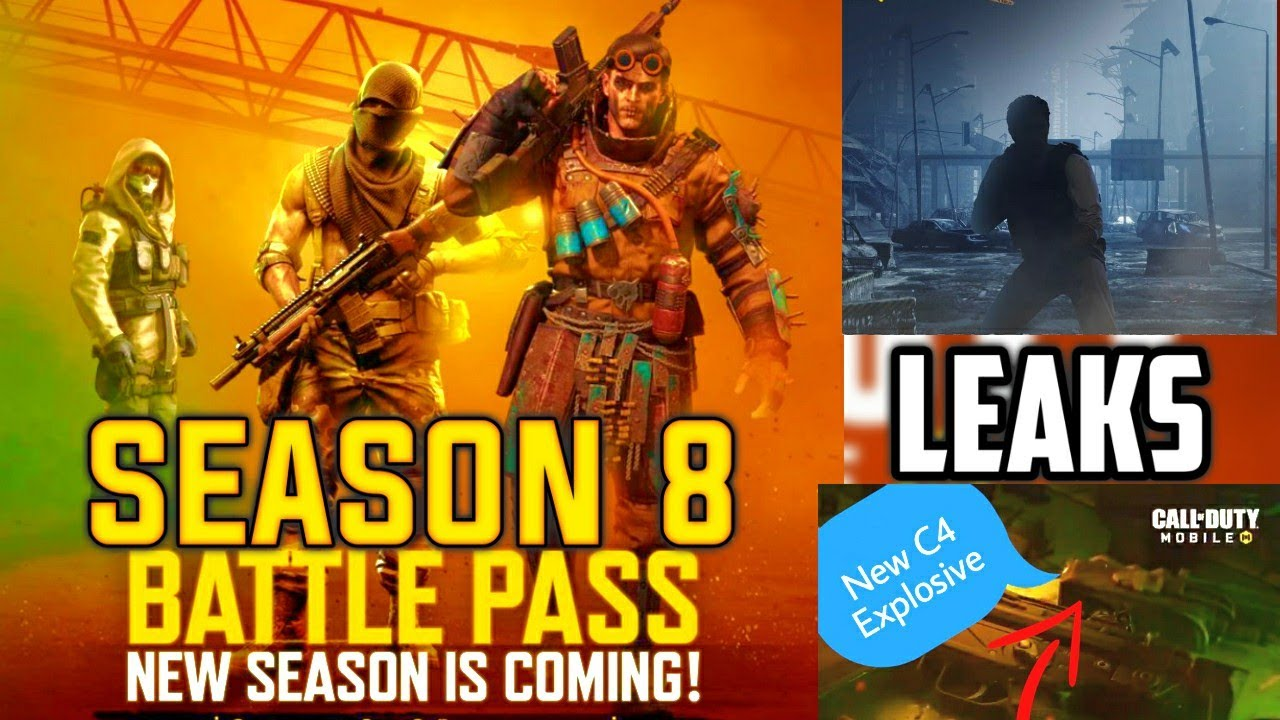 Season 8 Battle Pass Cod Mobile Season 8 Battle Pass Characters Leak Call Of Duty Mobile Codm S8 Youtube
