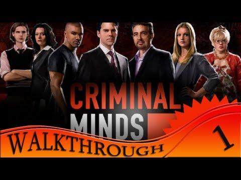 Criminal Minds - Walkthrough #1 | Begining