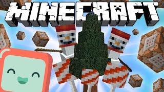 РОЖДЕСТВЕНСКИЕ УКРАШЕНИЯ! [Команды для Minecraft]