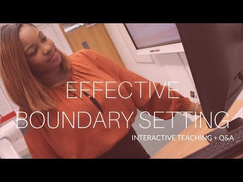 Effective Boundary Setting - With Ify Alexis