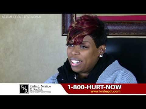 Rachelle Pearson Testimonial - Kisling, Nestico & Redick | Ohio Personal Injury Lawyers