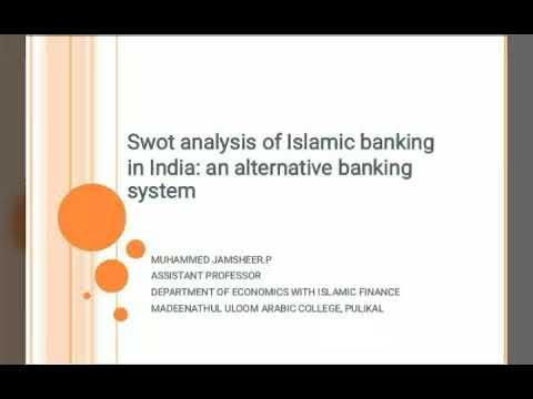 Swot analysis of Islamic banking