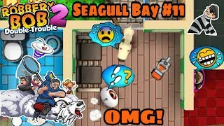 Robbery Bob 2 Hack Seagull Bay With 500 RC Car Part 11
