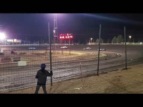 Cardinal Speedway imca hobby stock heat race