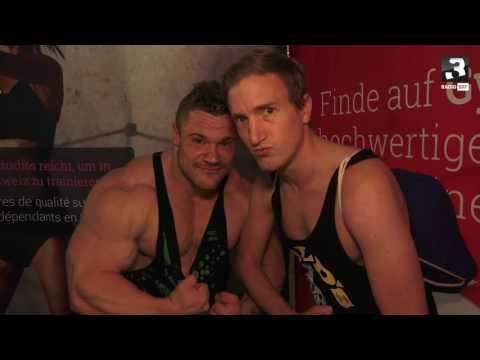 Büssi an der Fitness-Messe Basel