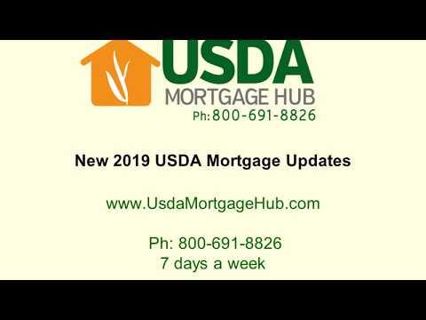2019 USDA Mortgage Updates