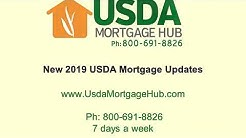2019 USDA Mortgage Updates